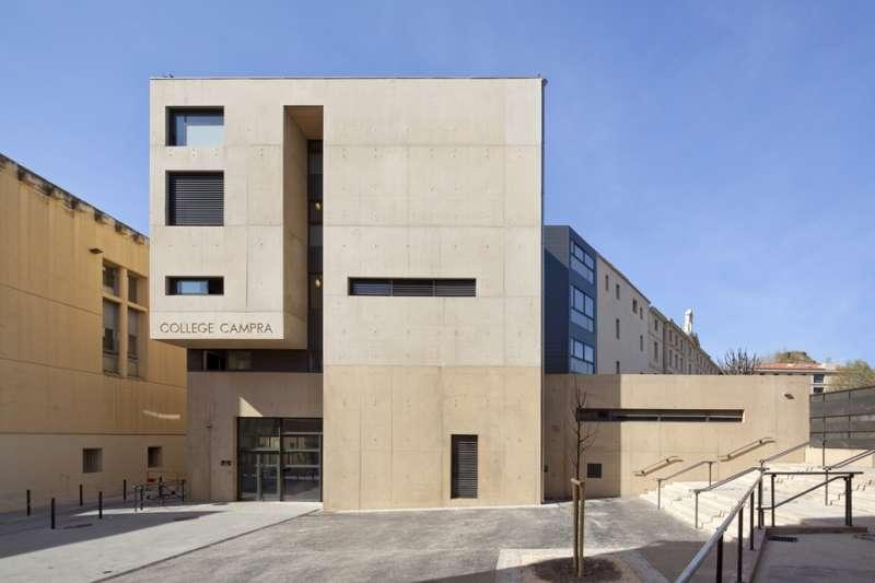 Aix-en-Provence : Collège Campra (Государственные школы